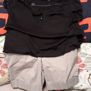 Mossino shorts outfit